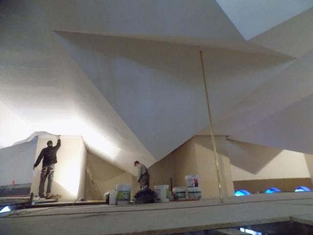 Zakończenie prac w pierwszej części kościoła